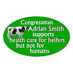 Adrian Smith Heifer Health Care Sticker