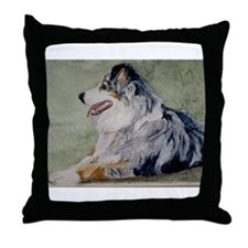 Throw Pillow Australian Shepherd