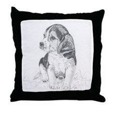 Throw Pillow Beagle