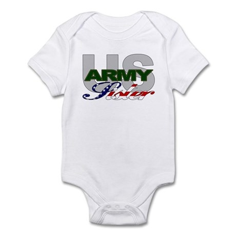 United States Army Sister Infant Creeper