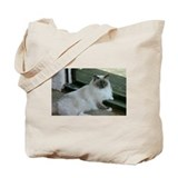 Unique Siamese kitten Tote Bag