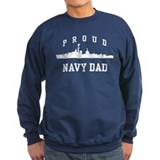 Proud Navy Dad Jumper Sweater