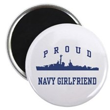 Proud Navy Girlfriend Magnet