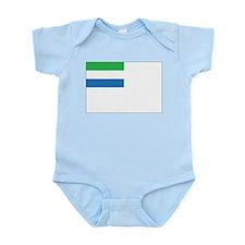 Sierra Leone Naval Ensign Infant Bodysuit