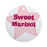 Sweet Marisol Ornament (Round)