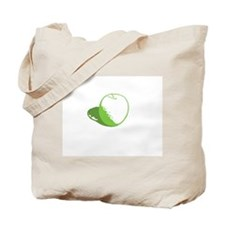 """""""an apple a day"""" Tote Bag"""