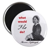 "What Would FLO Do? 2.25"" Magnet (10 pack)"