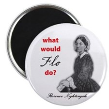 "What Would FLO Do? 2.25"" Magnet (100 pack)"