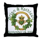 Brian & Kathleen Throw Pillow