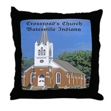 Crossroad's Lutheran Church Throw Pillow