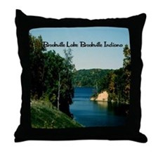 Brookville Lake Throw Pillow