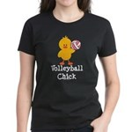 Volleyball Chick Women's Dark T-Shirt