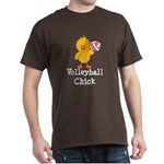 Volleyball Chick Dark T-Shirt