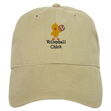 Volleyball Chick Baseball Cap