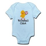 Volleyball Chick Onesie