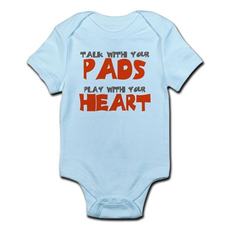 TALK WITH YOUR PADS Infant Bodysuit
