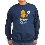 Soccer Chick Sweatshirt (dark)