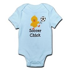 Soccer Chick Onesie