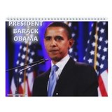 PRESIDENT BARACK OBAMA 2013 Wall Calendar