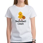 Basketball Chick Women's T-Shirt