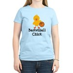 Basketball Chick Women's Light T-Shirt