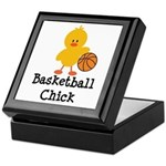 Basketball Chick Keepsake Box