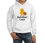 Basketball Chick Hooded Sweatshirt