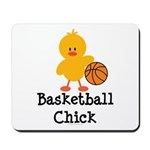 Basketball Chick Mousepad