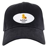 Basketball Chick Black Cap