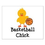 Basketball Chick Small Poster