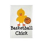 Basketball Chick Rectangle Magnet (100 pack)