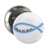 "Riyah-Li Designs Walk By Faith 2.25"" Button"
