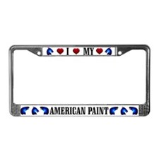 Paint License Plate Frame