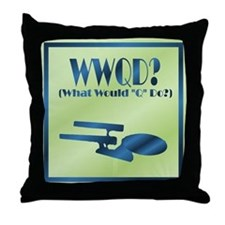 WWQD? Throw Pillow