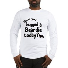 Hug A Beardie Long Sleeve T-Shirt
