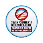 """Seven CIA Directors 3.5"""" Button (100 pack)"""