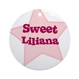 Sweet Liliana Ornament (Round)