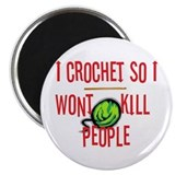 Unique Crochet Magnet
