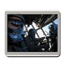 C-130 Cockpit Mousepad