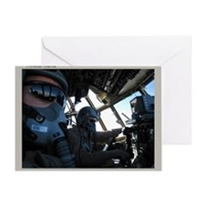 C-130 Cockpit Greeting Card