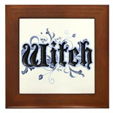 Witch Framed Tile