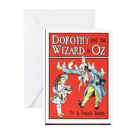 Dorothy & the Wizard of Oz Greeting Cards (Pk of 2
