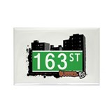 163 STREET, QUEENS, NYC Rectangle Magnet