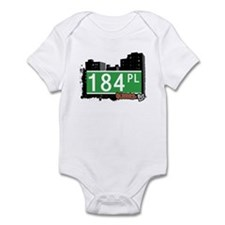 184 PLACE, QUEENS, NYC Infant Bodysuit