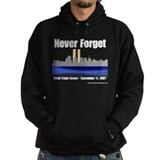 World Trade Center Dark Hooded Sweatshirt