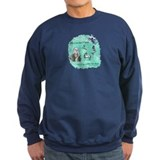 Too Fond of Books Sweatshirt