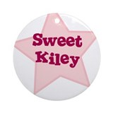 Sweet Kiley Ornament (Round)