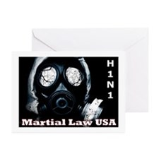 H1N1 Greeting Cards (Pk of 20)