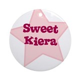 Sweet Kiera Ornament (Round)