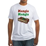 Mangia Mangia Italian Fitted T-Shirt